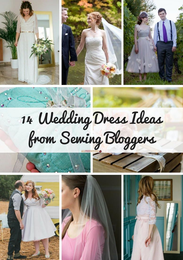 wedding dress ideas from sewing bloggers in my wedding