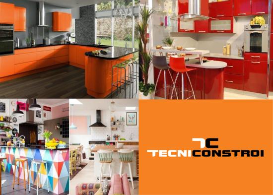 Decoração de cozinha 2017: cores vivas - Saiba mais em http://bit.ly/2lmeASk