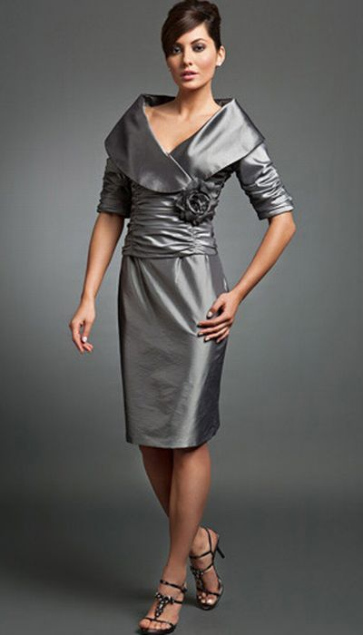 Daymor Couture Mother of the Bride Short Dress 217 at ...