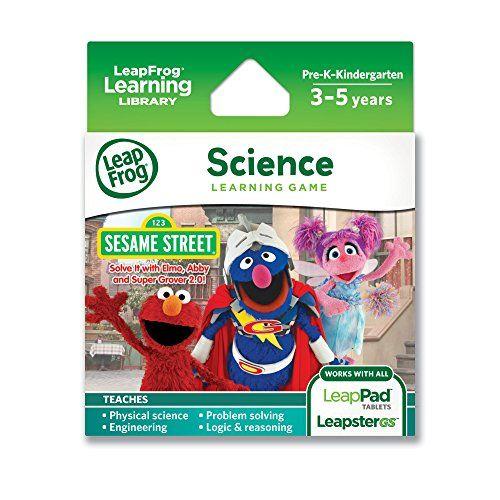 LeapFrog Explorer Sesame Street Solve it with Elmo, Abby and Super Grover 2.0 Learning Game LeapFrog Enterprises http://www.amazon.com/dp/B00CG0CL1S/ref=cm_sw_r_pi_dp_WQlFub0S8M1RE