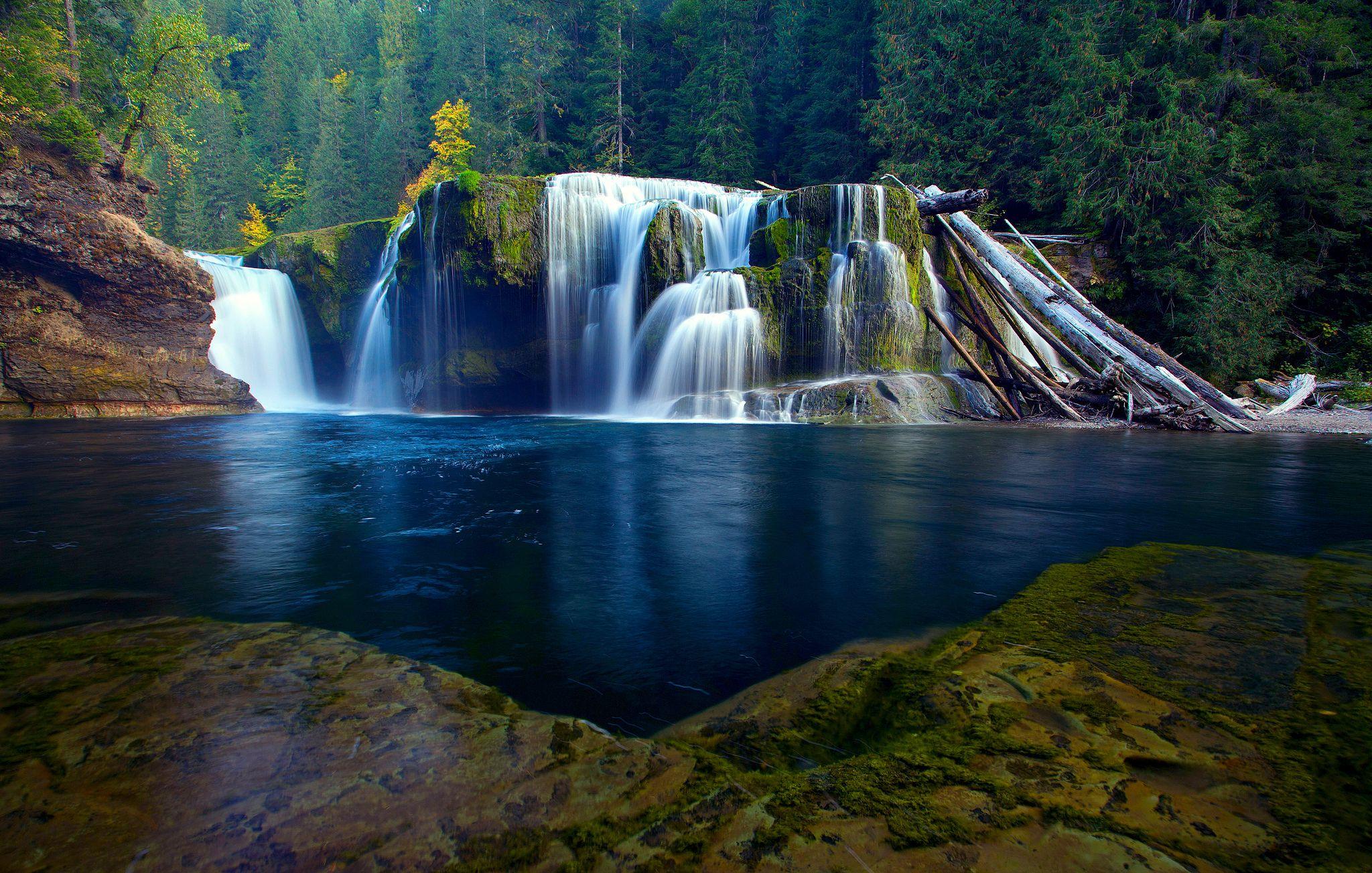 Paesaggi D Acqua Piscine terra/natura cascate nature landscape forest backwater