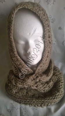 Il filo di Arianna maglia e uncinetto : Li ho provati per voi: scaldacollo con cappuccio