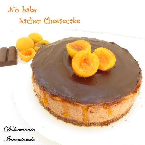 Dolcemente Inventando ovvero i pasticci di Ale: No-bake sacher cheesecake e...una domenica in Val di Non!