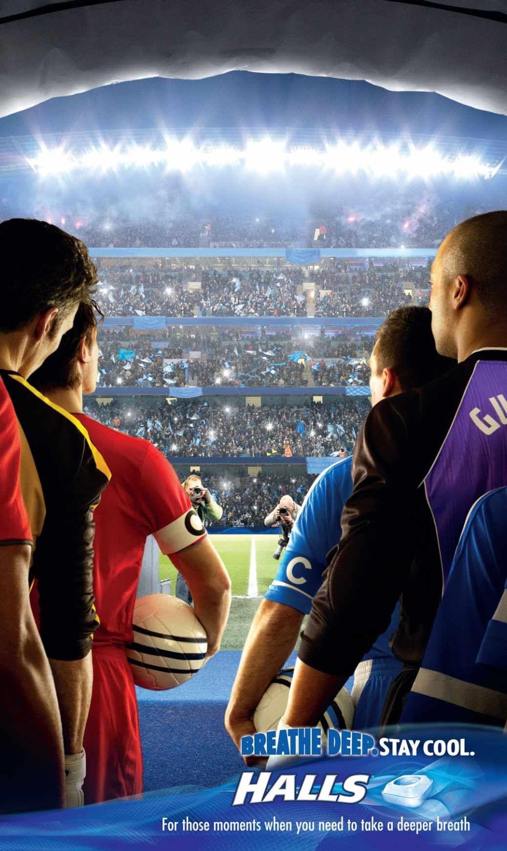 Halls stadium ads of the world