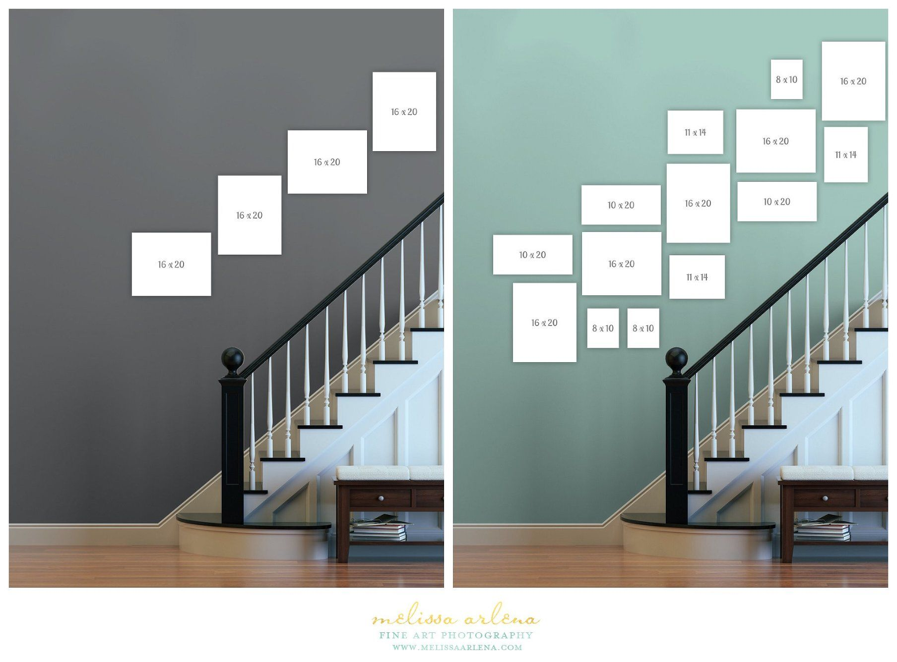Decorating Your Home with Photos – My Staircase Gallery #picturewallideas