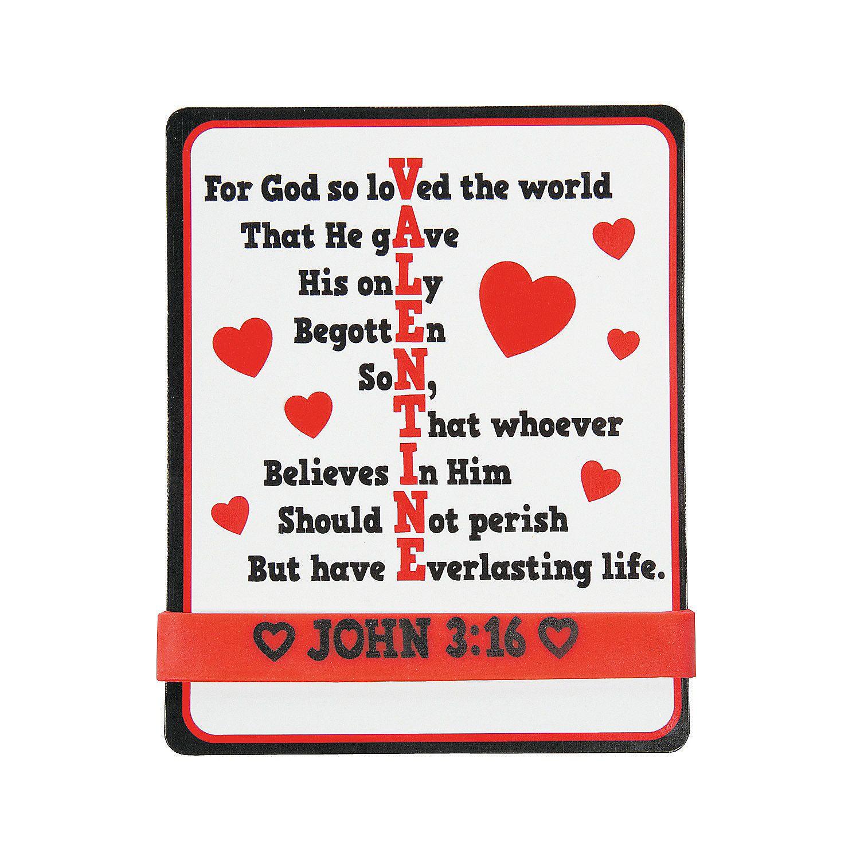 John 3 16 Cards With Bracelet Orientaltrading