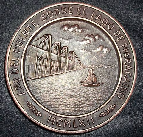 Moneda De La Inaguracion Del Puente 1962 Personalized Items Coins Person