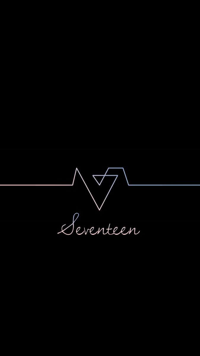 Seventeen 세븐틴 Wallpaper Seventeen エスクプス 壁紙 ロゴ 壁紙