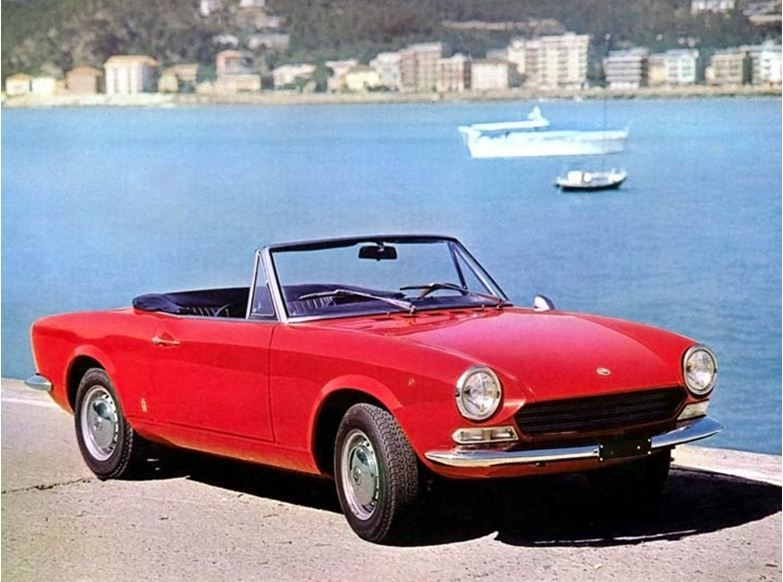 fiat 124 sport spider 1966 fiat pinterest fiat 124 sport spider fiat and fiat sport. Black Bedroom Furniture Sets. Home Design Ideas