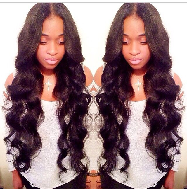 3 Loose Curl Sew In All Things Beautified Pinterest Hair Hair