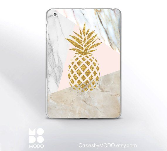 timeless design b7f54 6393c Pineapple iPad Air 3 2019 Cover Marble iPad 6th gen Hard Case iPad ...