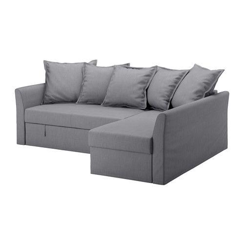 Sofa BedSleeper Sofa HOLMSUND Cover for corner sofa bed Nordvalla medium grey