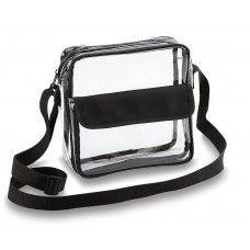 Clear Cross-Body Messenger Shoulder Bag
