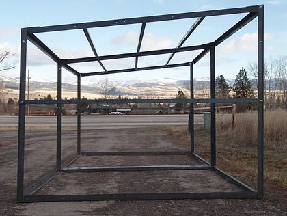 green diamond quality horse run in shed frame kits for sale a loafing shed offers shelter and protection to pastured horses from wind rain snow