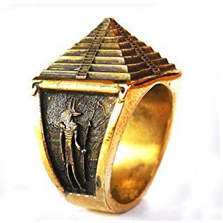 Pyramid Ring Free Mason Great Pyramid Ring Br010 expensive