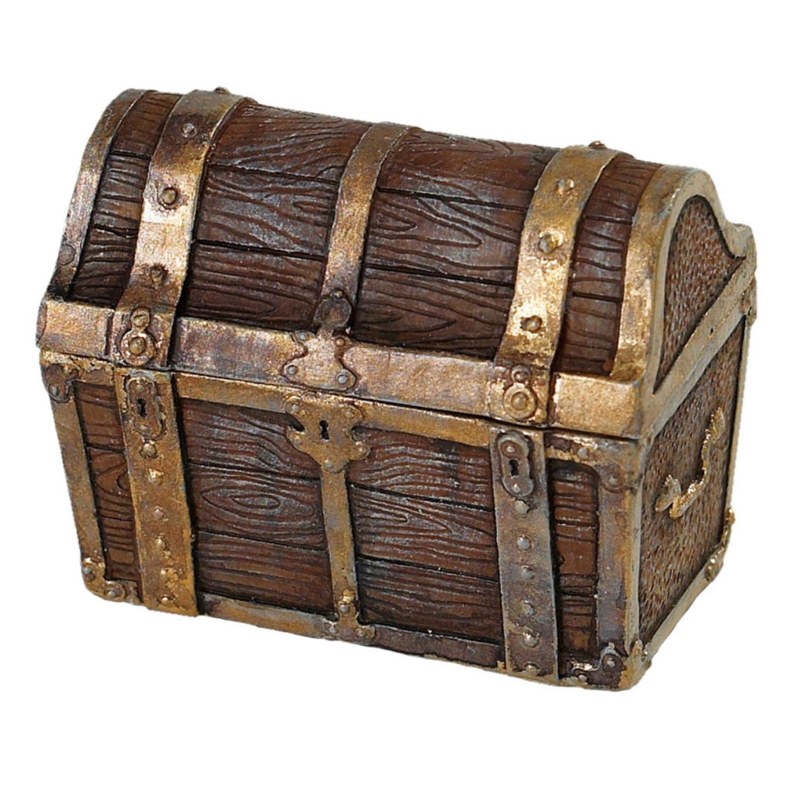 All Wood with all Brass Fittings Original Size Treasure Chest Handcrafted