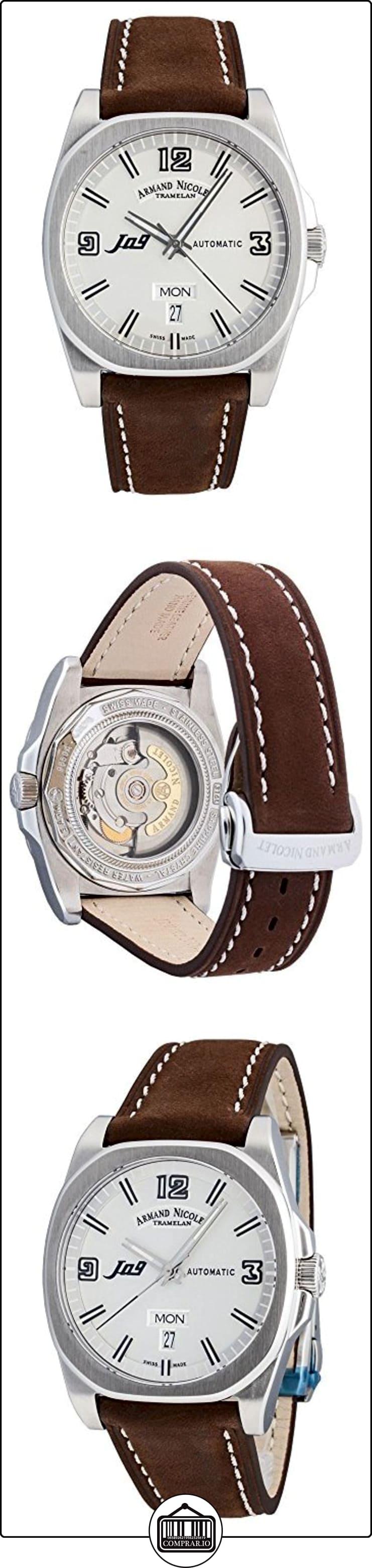 Armand Nicolet J09Day & DATE Automatic 9650A de Ag de p865mr2 de  ✿ Relojes para hombre - (Lujo) ✿