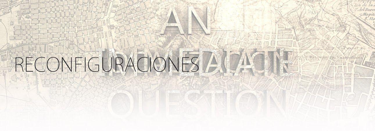 RECONFIGURACIONES. SERIE. YENY CASANUEVA Y ALEJANDRO GONZALEZ. PROYECTO PROCESUAL ART