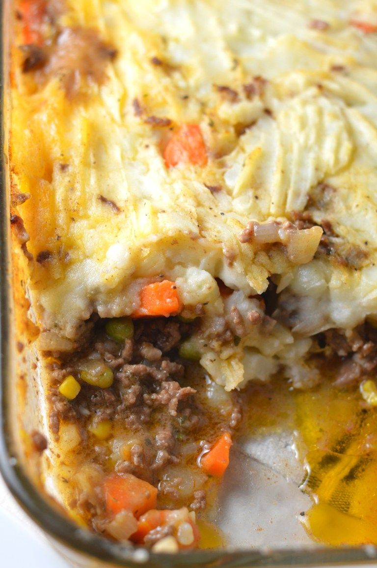 Shepherd S Pie Recipe Healthy Pie Recipes Beef Soup Recipes Food Recipes