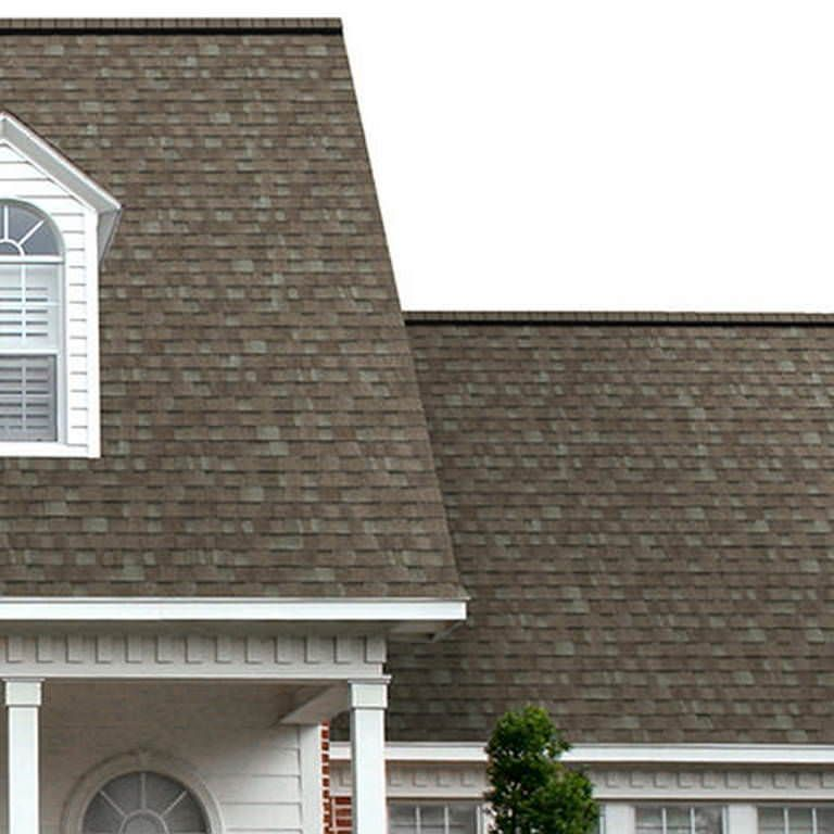Best Owens Corning Oakridge Shingles Driftwood Roof Shingle 400 x 300