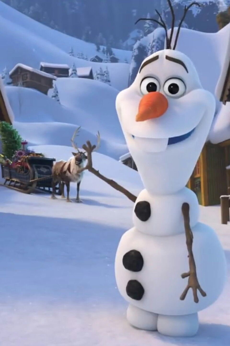 Olaf's FROZEN Adventure That time of year Papel de