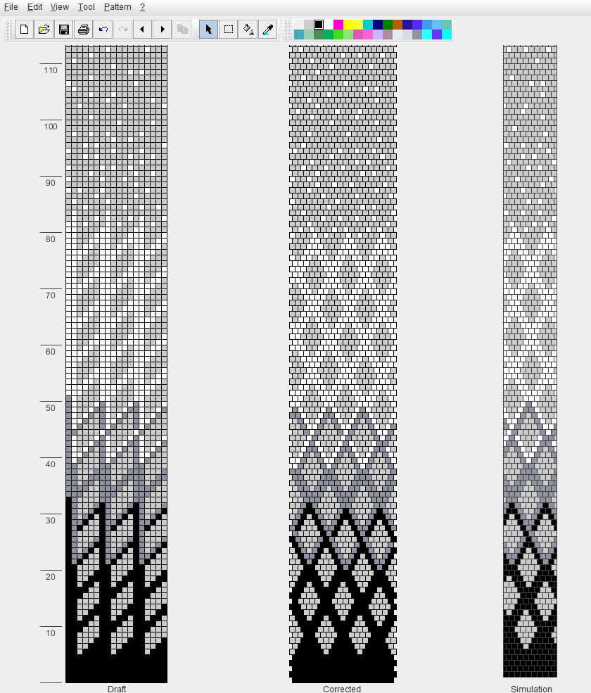 Схема к жгуту 9   Жгут из бисера   Pinterest   Rocalla, Crochet ...