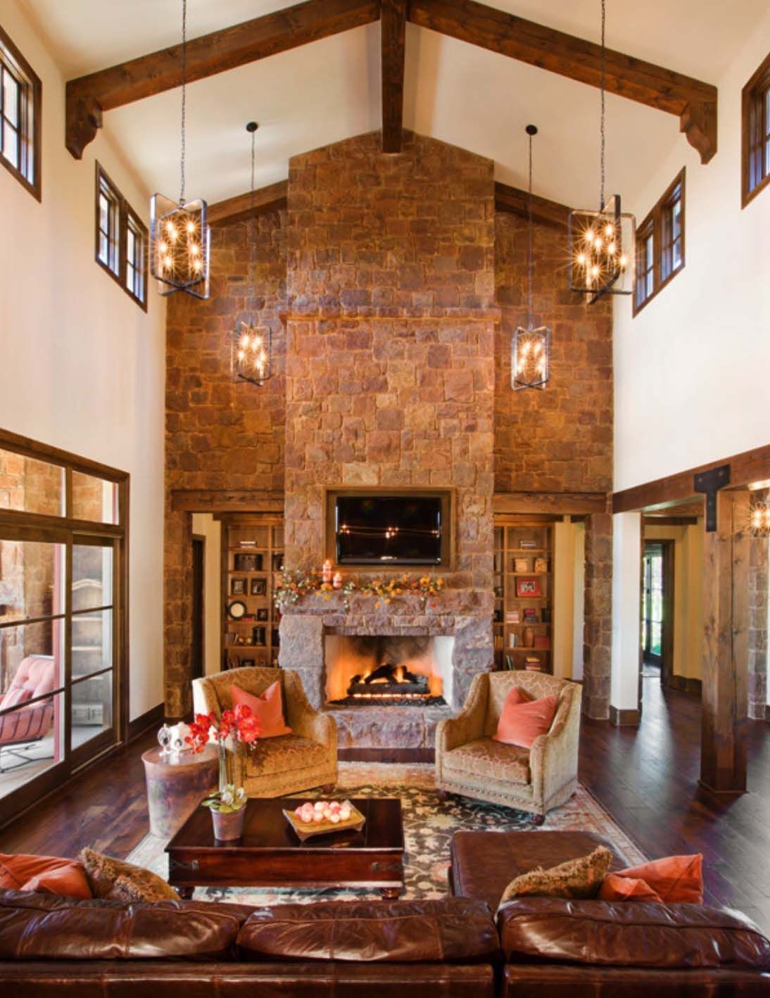 Rustic Texas Hill Country Home Blends With Old World Elegance