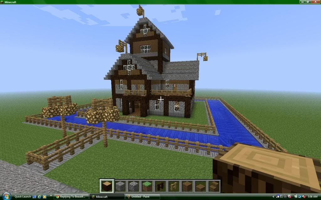 Minecraft house designs xbox 360 for Minecraft home designs