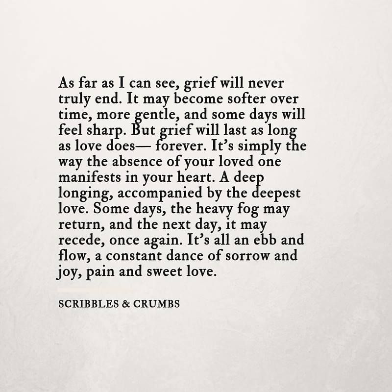 Quotes About Grief Memory Poem Poster  Grief Change And Dads