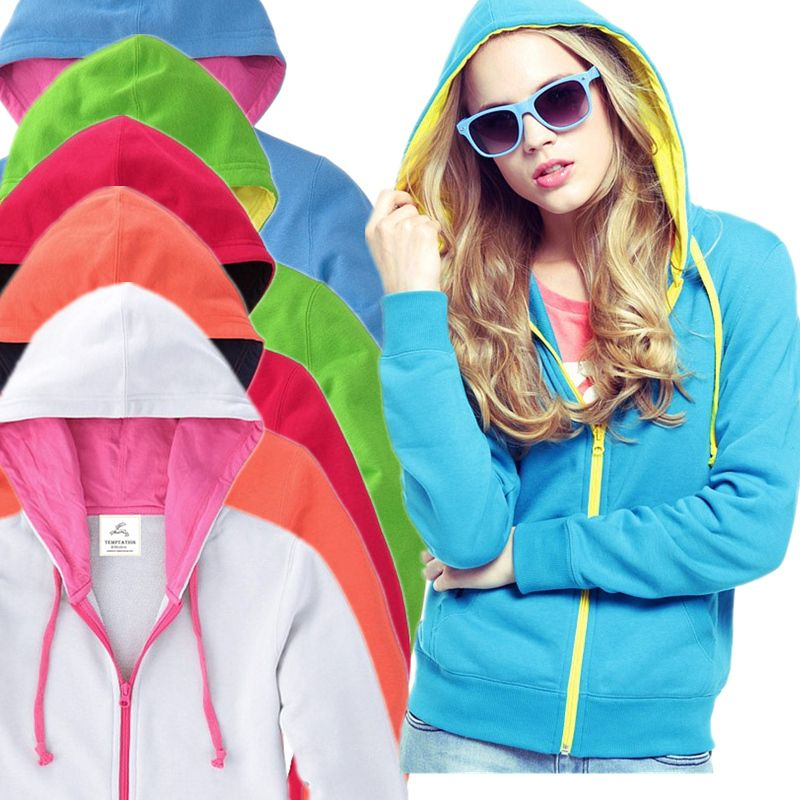 New arrival 2013 fashion women casual style hoodies color block thickening outerwear cardigan plus size free shipping  D47 from Reliable lululemon scuba hoodie suppliers on Bluecat Store. $22.66 :http://www.aliexpress.com/store/919173