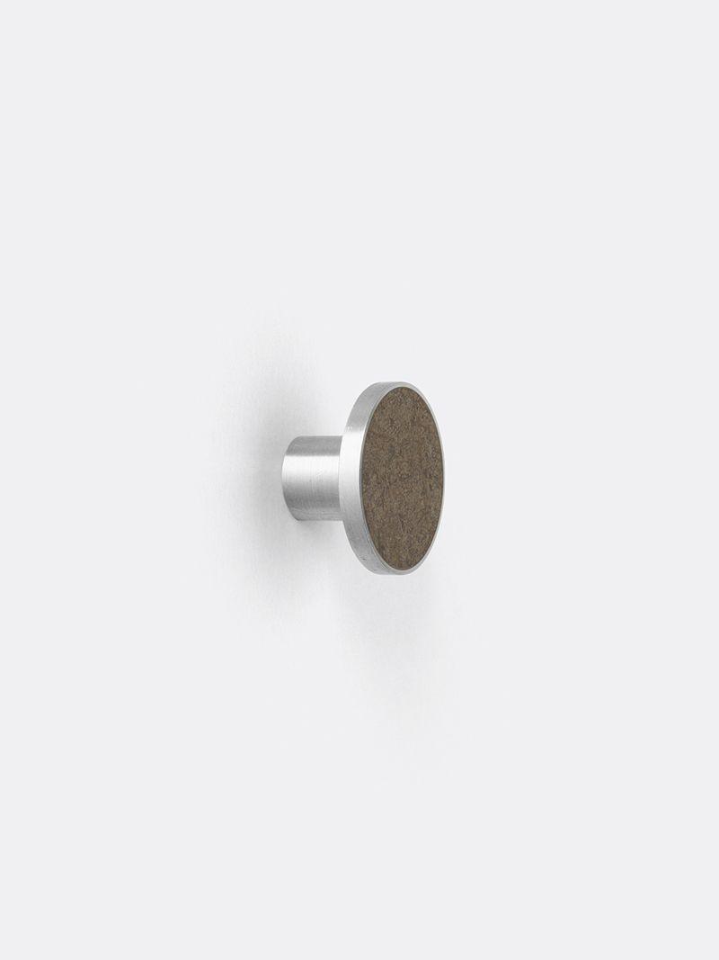 Hook - Steel - Marble - Large - Brown in 2019 | ferm LIVING