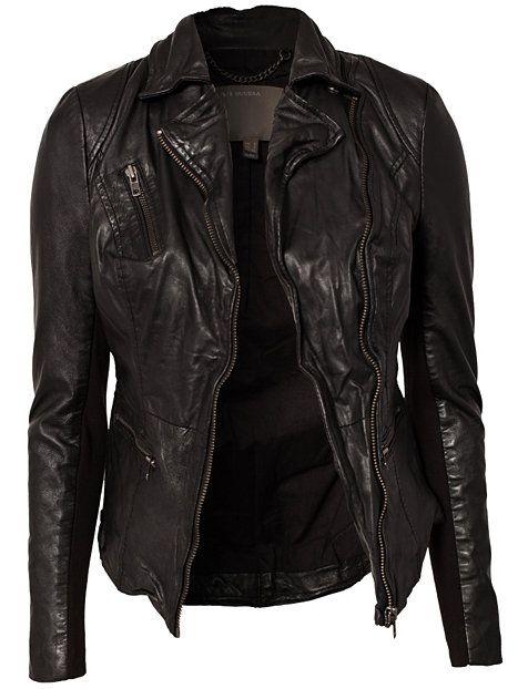 36d92ede20e3 Sirius Biker Jacket - Muubaa - Black - Jackets - Clothing - Women -  Nelly.com Uk