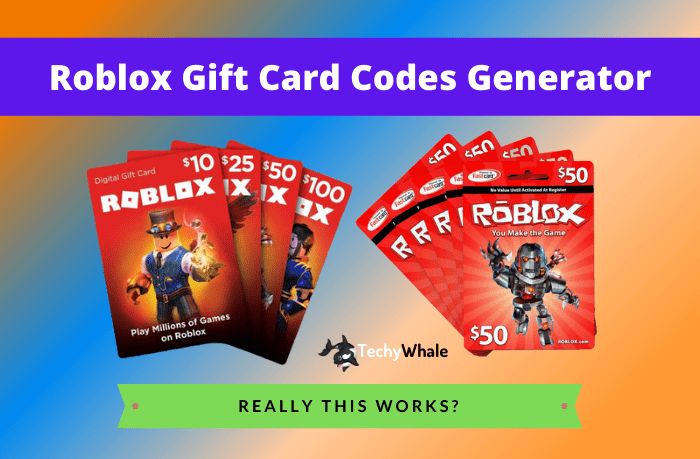 Roblox Gift Card Generator 2021 No Human Verification In 2021 Roblox Roblox Gifts Gift Card Generator