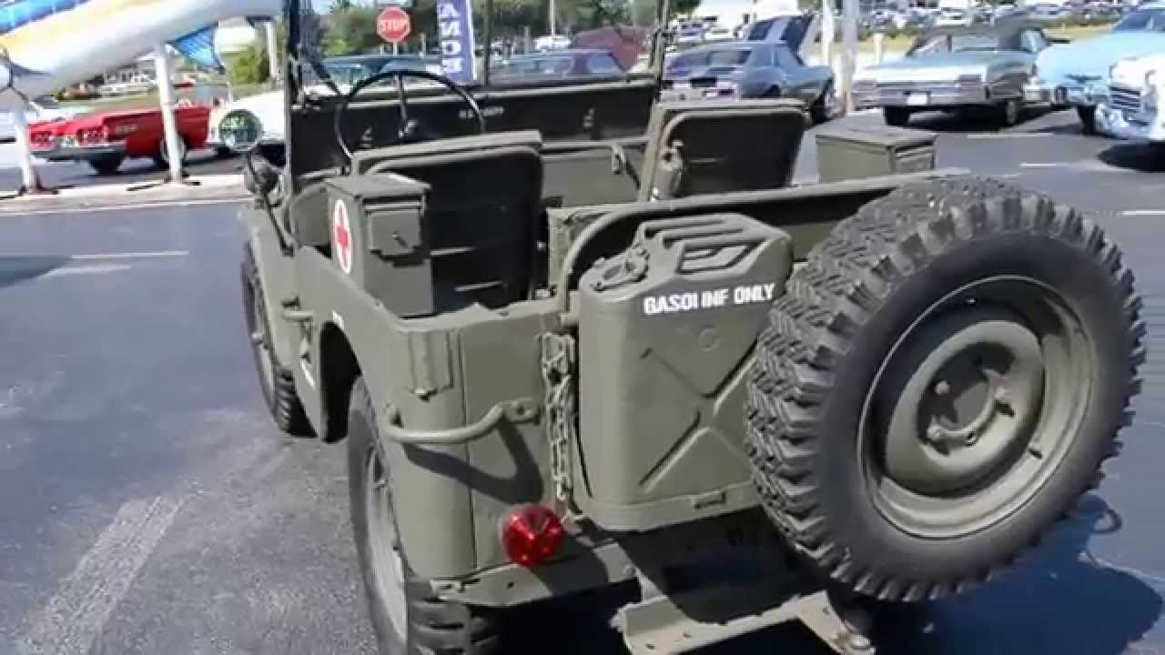 1948 Willys CJ-2A Military Jeep Classic Cars for sale Stuart, FL ...