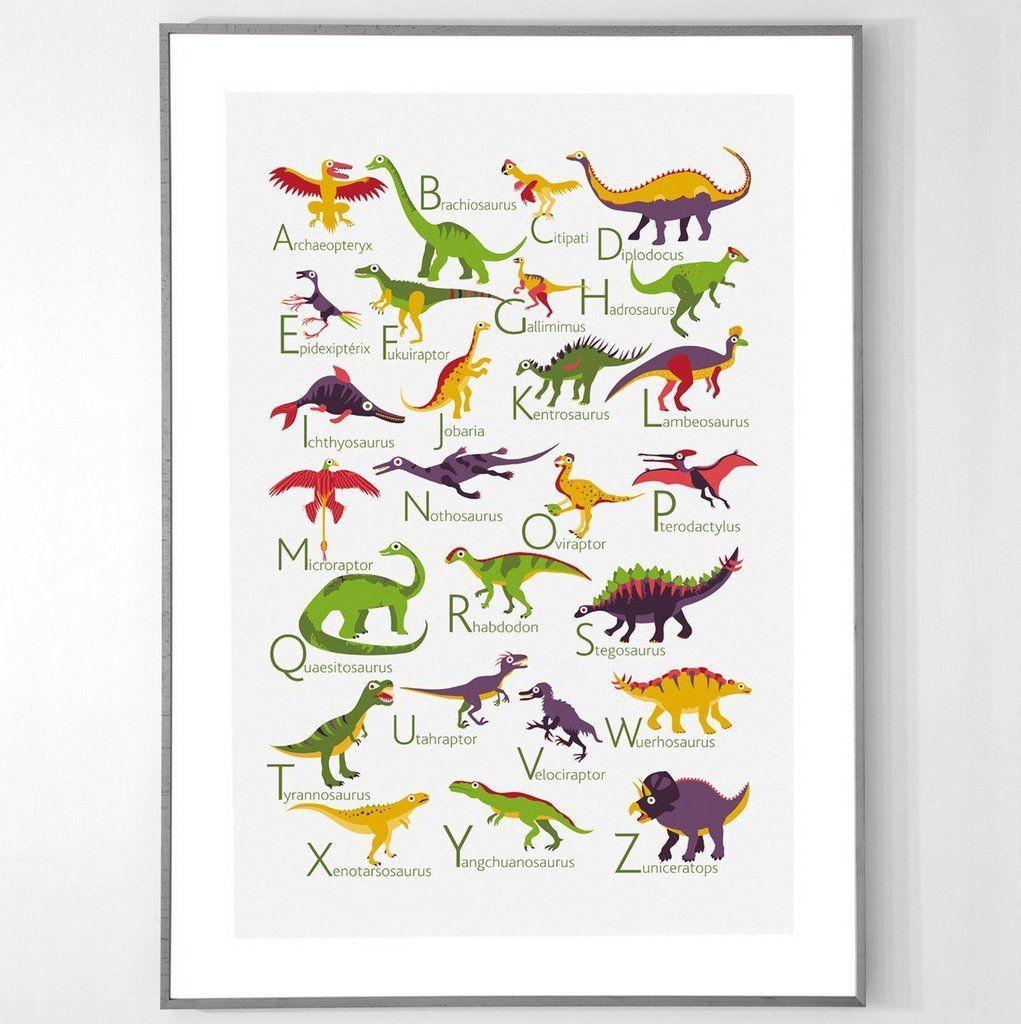 une deco dinosaure dans la chambre joli place