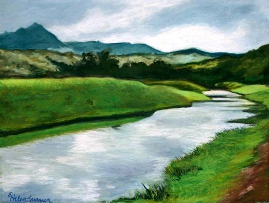 river painting - Google Search