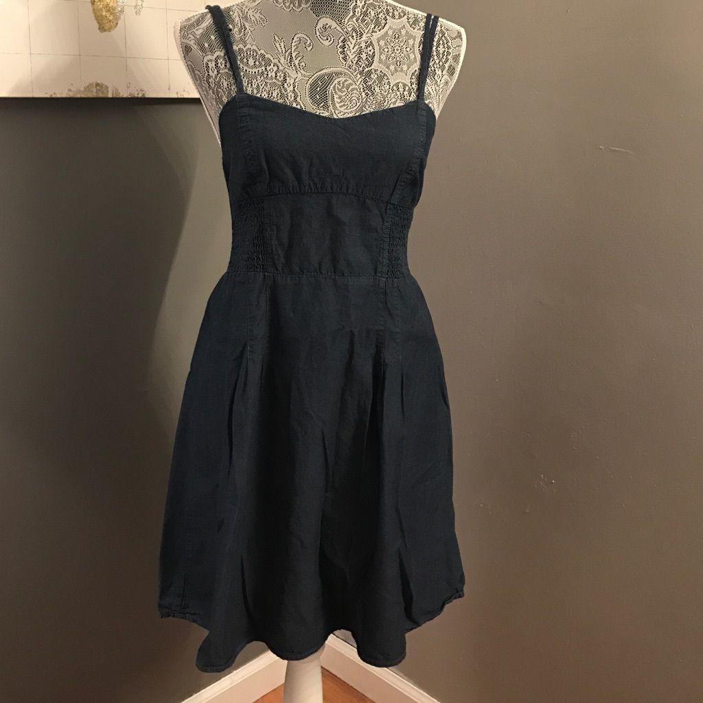 Dark Wash Denim Dress