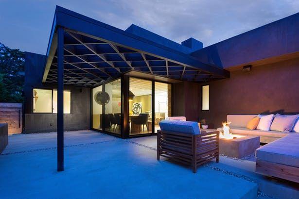 Las Casas Residence Pergola plans, Cheap pergola, Modern