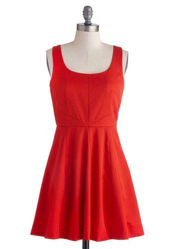 I like the cut of this dress. Fuego Where You Wanna Go Dress, #ModCloth