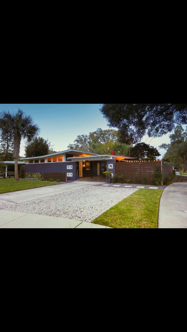 Mid Century Modern Home For Orlando Fl