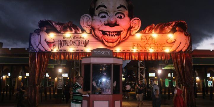 Howl O Scream at Busch Gardens