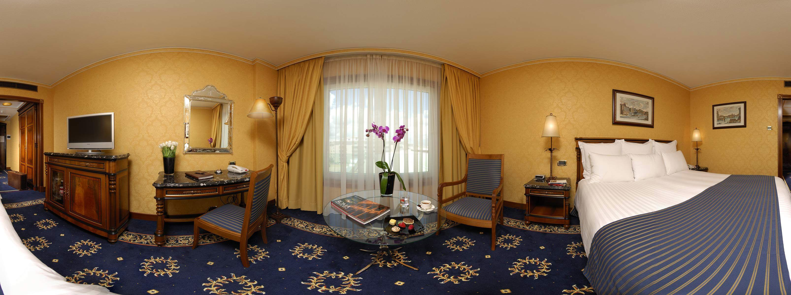Rome Marriott Park Hotel Deluxe Room #comfortable, # ...