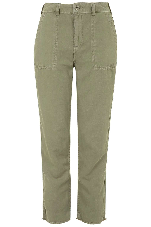 Raw Hem Clean Utility Pants