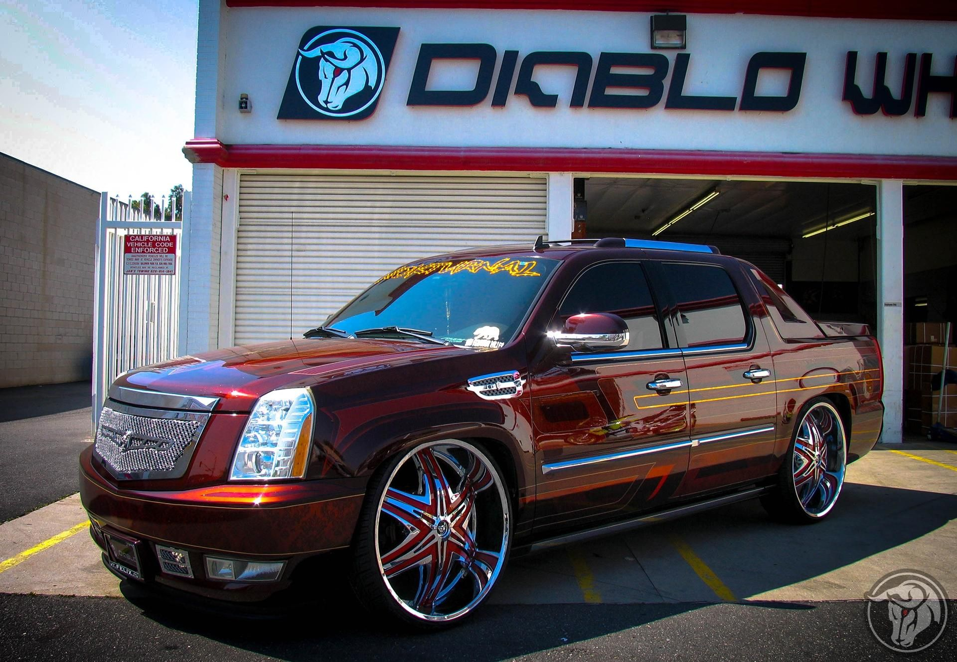 Escalade Ext Custome Vehicle Gallery Diablo Wheels Vehicles Gallery Bmw Car