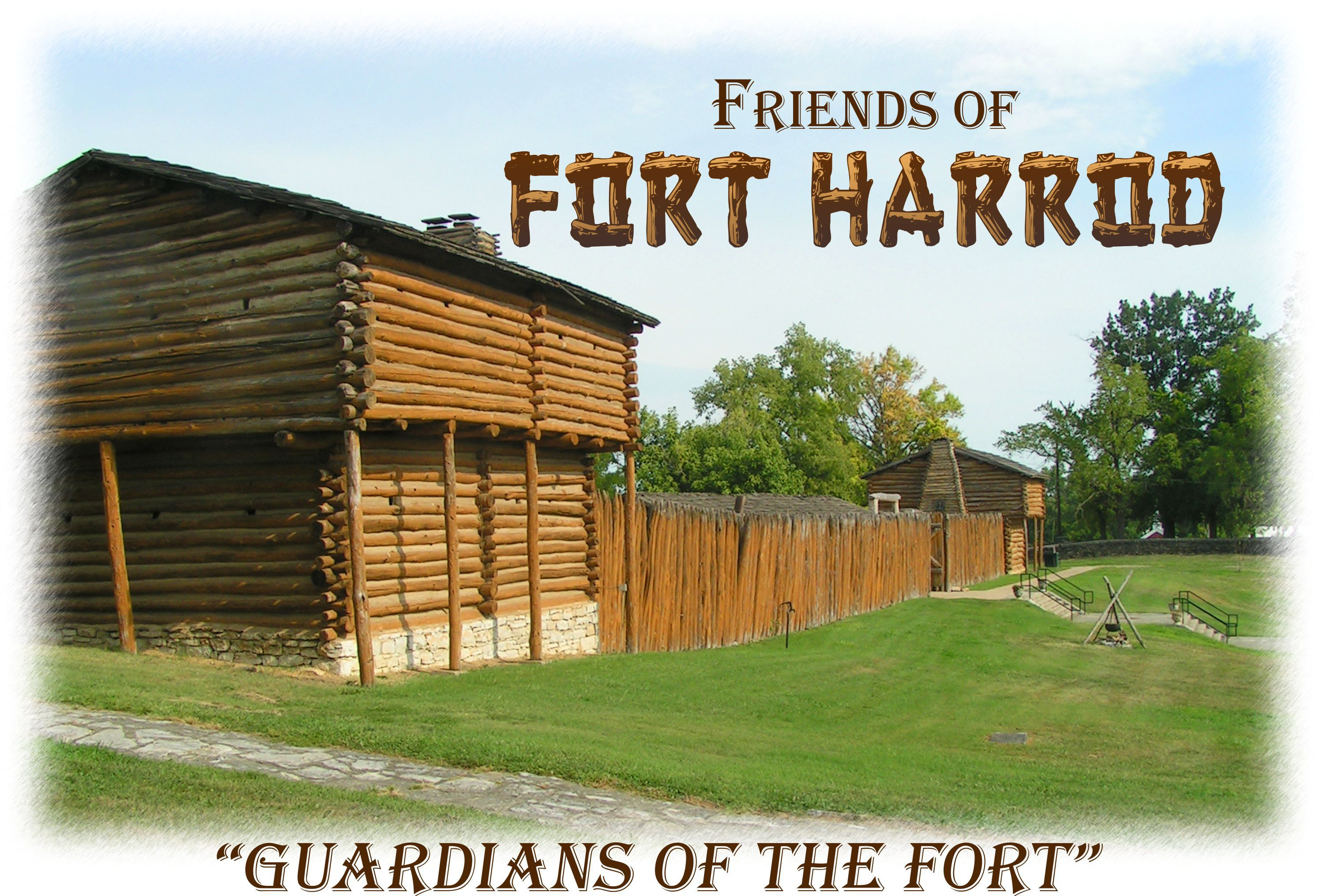 Old Fort Harrod Harrodsburg Kentucky Old Fort Harrodsburg