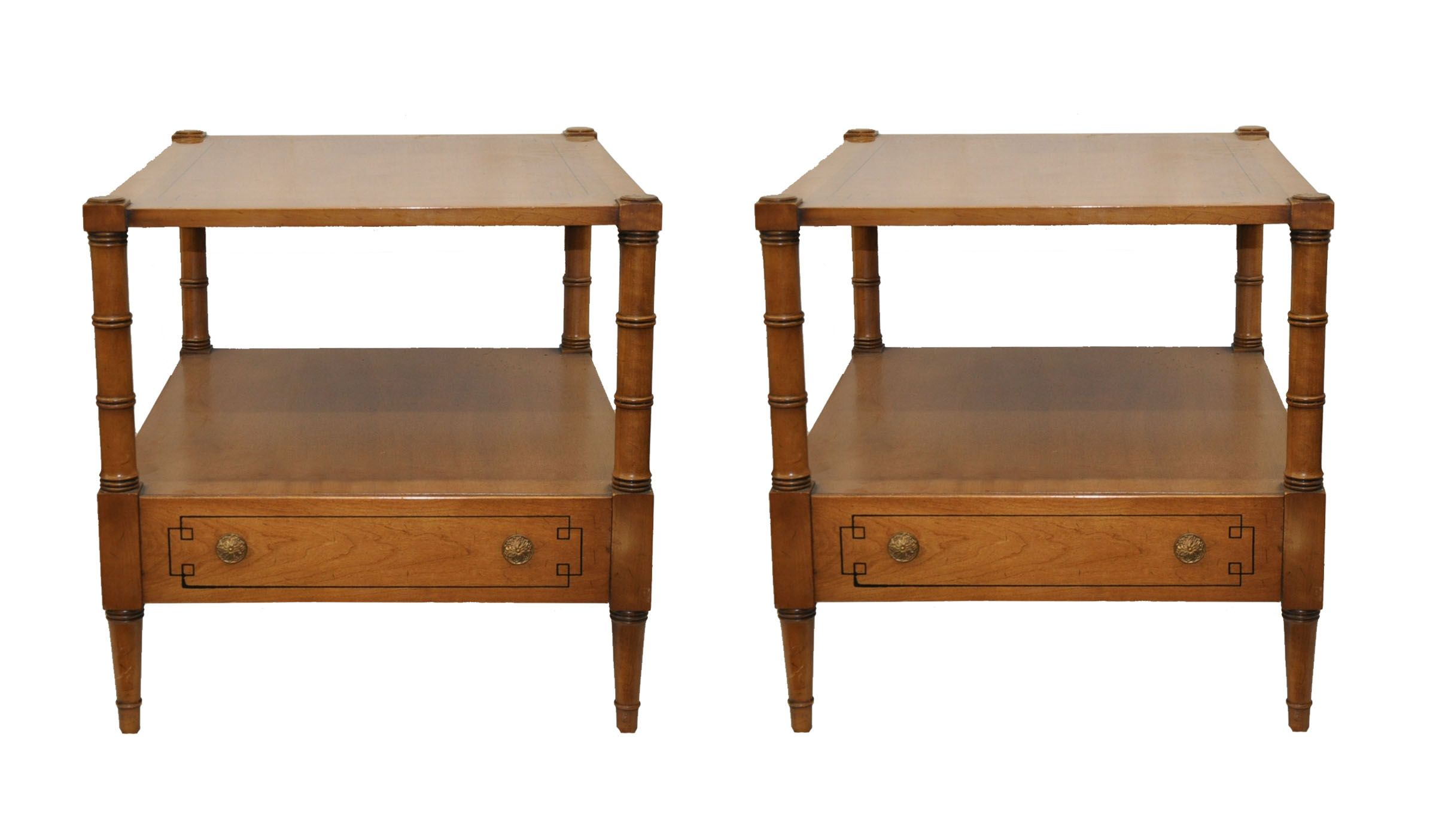 Palazzo End Tables by Drexel Heritage