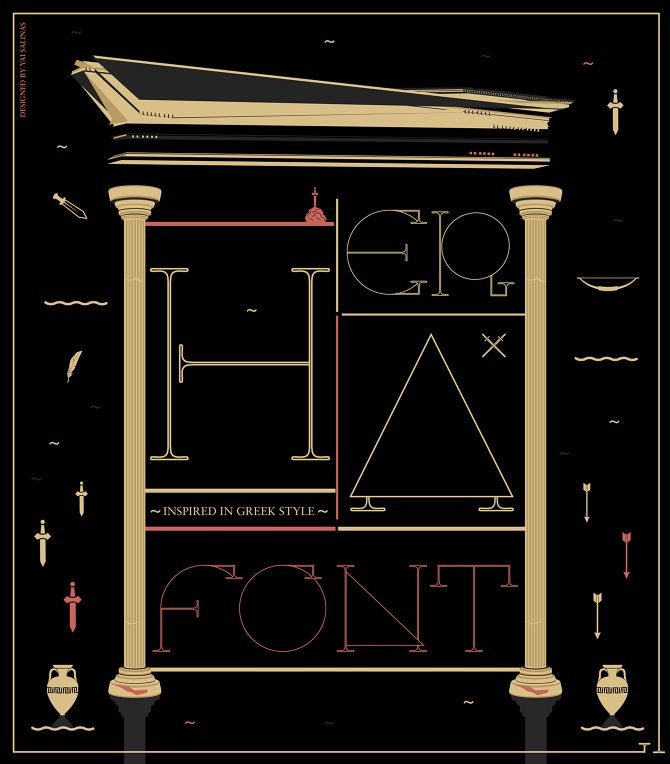 Free Font HERA | Going Digital | Fonts, Typographic design
