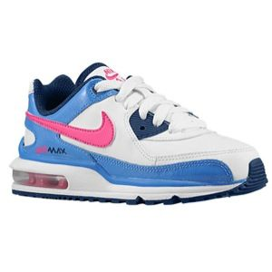 watch 06ea1 b0fb4 Nike Air Max Wright - Girls  Preschool - White Pink Foil Distance  Blue Brave Blue