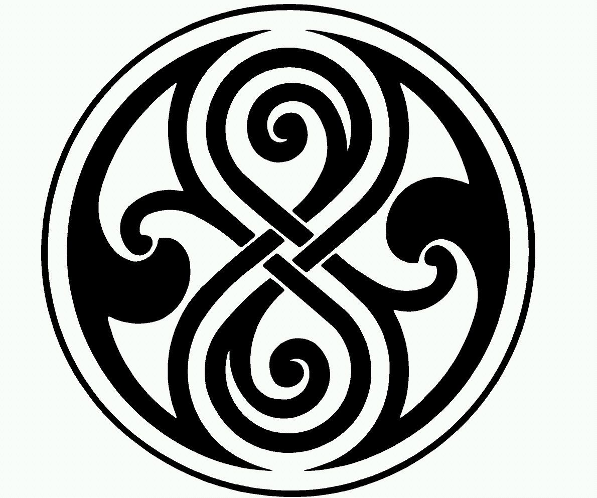 Time Lord Symbol Doctor Who Vinyl Decal Doctor who