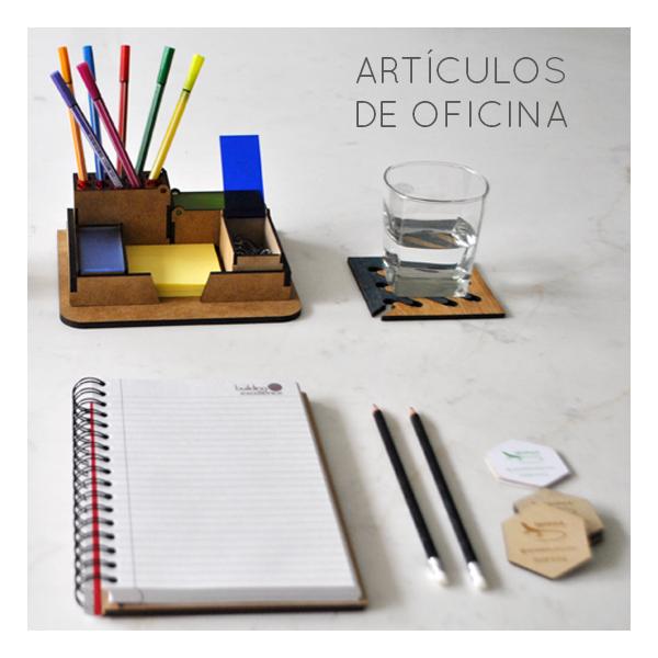 Art culos de oficina ecol gicos organizador de escritorio posa vasos libreta de papel - Articulos de oficina ...